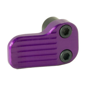 Timber Creek Outdoors AR-15 Extended Magazine Release Purple Anodized AR EMR PPA