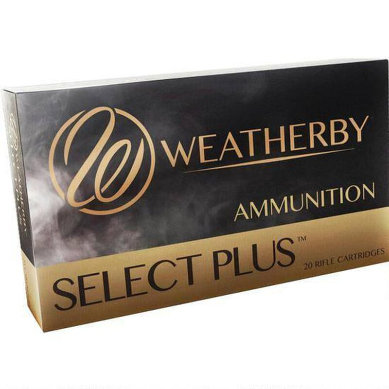 Weatherby Select Plus .270 Wby Mag Ammunition 20 Rounds 130 Grain Barnes TTSX Lead Free 3400 fps