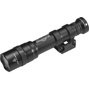 SureFire M600DF Dual Fuel LED Scout Light WeaponLight 1500 Lumens 2x CR123A/18650A Batteries Tail Cap Switch Aluminum Body Black