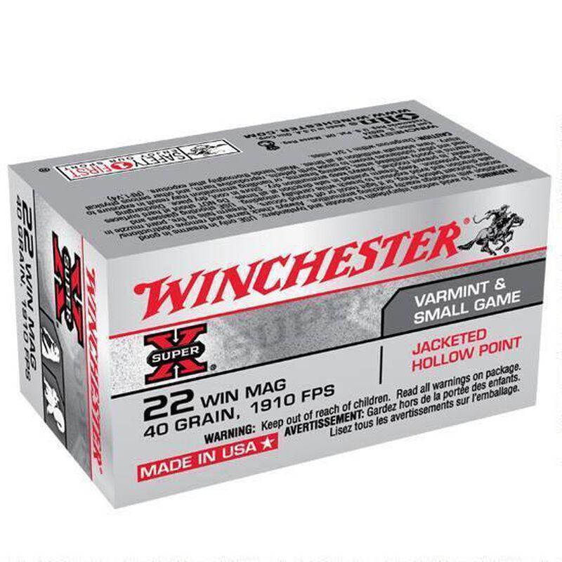 Winchester Super X .22 WMR Ammunition 2000 Rounds, JHP, 40 Grains