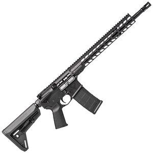 "Stag 15 Tactical Series AR-15 Semi Auto Rifle 5.56 NATO 16"" Nitride Barrel 30 Rounds 13.5"" M-LOK Slimline Free Float Hand Guard Magpul Stock/Grip Matte Black Finish"