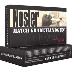 Nosler .40 S&W 180 Grain JHP 20 Round Box 1005 fps
