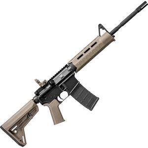 """DPMS MOE Warrior Semi Auto Rifle .223 Rem/5.56 NATO 16"""" Barrel 30 Rounds FDE Magpul MOE AAC Blackout RFA3-MWC-DE"""