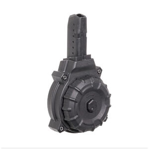 PROMAG AR-15 9MM GLOCK STYLE MAG (50) RD DRUM BLACK POLYMER DRM-A12