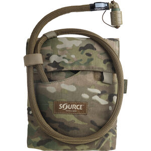 Source Tactical Kangaroo 1 Liter Hydration Pack, Nylon, Multicam, MOLLE Compatible