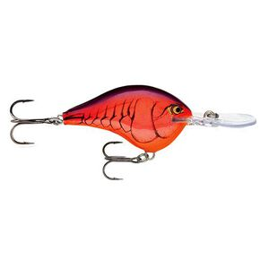 """Rapala Dives-To Series Custom Ink Lure Size 06 Length 2"""" Dives 6' Demon"""