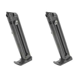 Ruger Mark IV 22/45 Magazine .22 Long Rifle 10 Rounds Steel Blued 2 Pack 90646