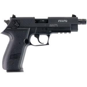 "ATI/GSG Firefly HGA 22 LR Semi Auto Pistol 4"" Threaded Barrel 10 Rouds Alloy Frame Black"