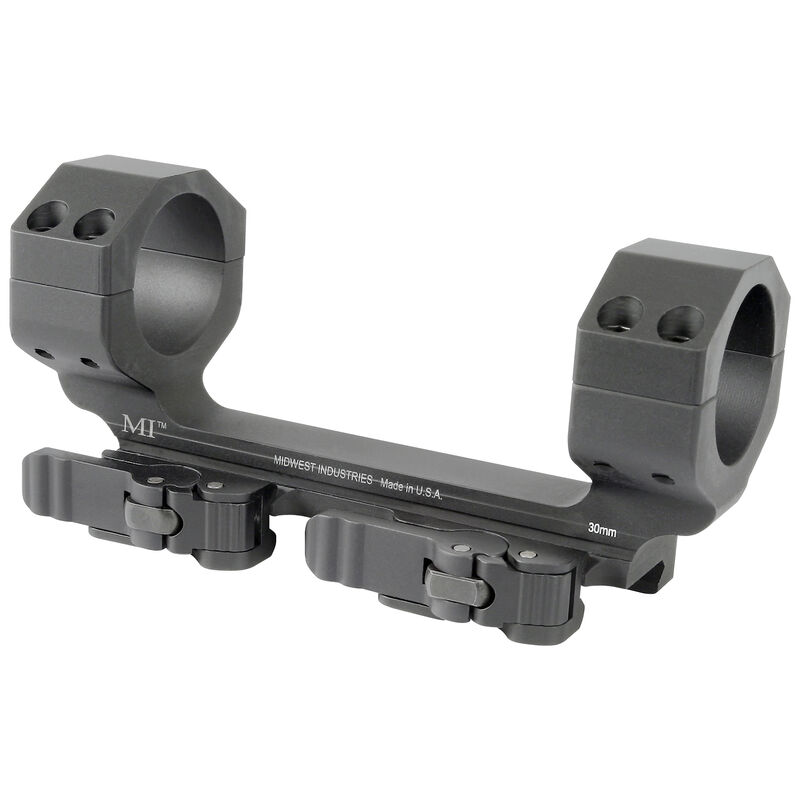 Midwest Industries 30mm Heavy Duty QD Scope Mount Zero Offset MI-QD30SMHD