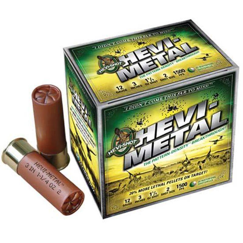 """Hevi-Shot Hevi-Metal 12 Gauge Ammunition 25 Rounds 3.50"""" BB Leadless 1.5 Ounce 33588"""