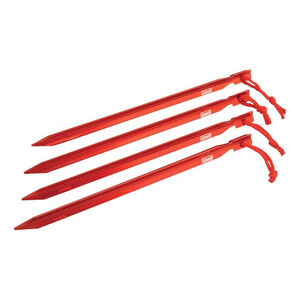 "Coleman 9"" Heavy Duty Aluminum Tent Stakes (4)"