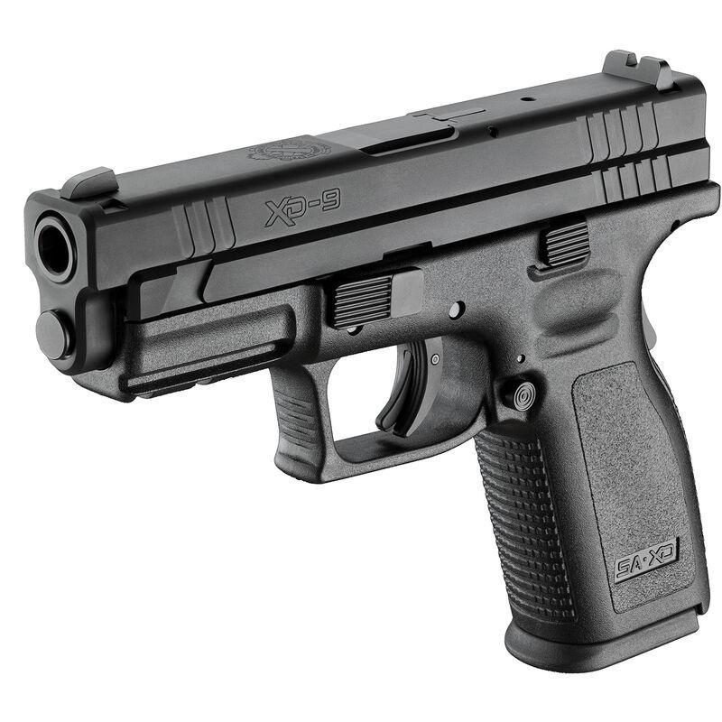 "Springfield Armory XD 9mm Semi Auto Pistol 4"" Barrel 16 Rounds Black, Defender Series"