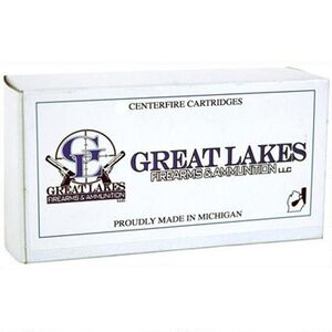 Great Lakes Ammo .38 Special Ammunition 50 Rounds 125 Grain TCFP Remanufactured