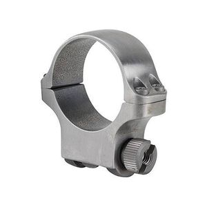 Ruger 30mm Scope Ring High Matte Stainless Steel
