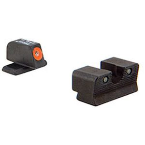 Trijicon HD Night Sight Set for Springfield XD(S) Series Handguns Orange Front Outline Tritium Steel SP102-C-600752