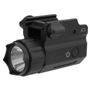 TacFire Full Sized Pistol Light Rail Mount 360 Lumens White Light Aluminum Black