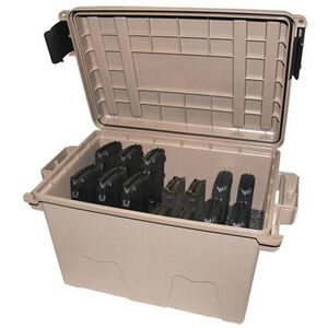 MTM Tactical Magazine Can .308 Winchester Magazines Holds 14 AR-10/DPMS LR-308/M1A Type Magazines Polymer Flat Dark Earth