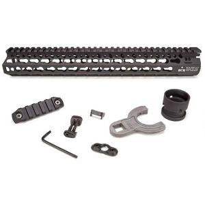 "BCM GUNFIGHTER AR-15 ALPHA Rail Handguard 13"" Keymod Aluminum Black BCM-KMR-A13-556-BLK"