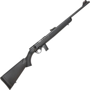 "Mossberg 802 Plinkster Bolt Action Rimfire Rifle .22 LR 18"" Barrel 10 Rounds FO Sights Synthetic Stock Black"