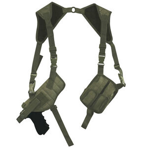 Fox Outdoor Tactical Shoulder Holster Universal Fit Ambidextrous Nylon Olive Drab Green 58-170
