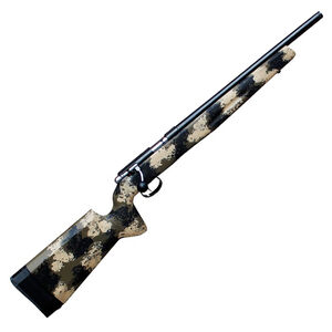 """Anschutz 1416 Bolt Action Rifle 22 LR 18"""" Threaded Barrel 5 Rounds Manners Synthetic Stock Blued"""
