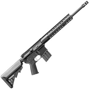 "Bushmaster Hunting SD Carbine AR-15 Semi Auto Rifle .450 BM 16"" Barrel 5 Rounds Square Drop Aluminum Handguard Fixed Stock Black"
