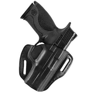 Bianchi #58 P.I. Holster SZ16 Springfield XD 9mm/.40, XD(M) 9mm/.40, and XD .45 Right Hand Plain Black Leather