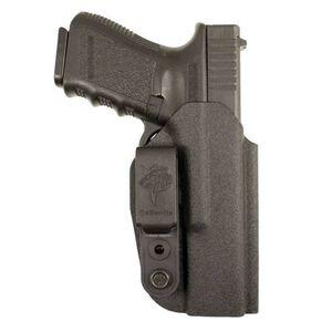 DeSantis Slim-Tuk IWB Tuckable Holster Glock 19, 23 Ambidextrous Kydex Black 137KJB6Z0