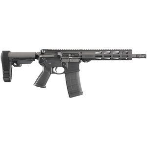 Ruger AR-556 NATO Semi Auto AR-15 Pistol with SBA3 Brace 10.5 Barrel 30 Rounds M-LOK Handguard Black