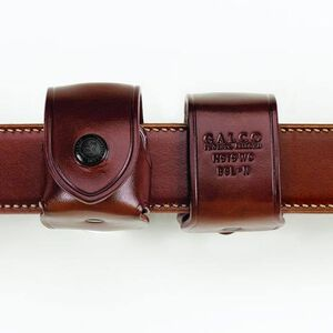 Galco Belt Speedloader Pouch for 38/357 Revolvers Leather Tan