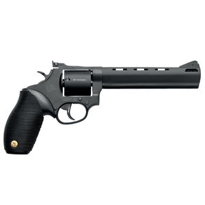 """Taurus Tracker 692 .38 Spl/.357 Mag/9mm Double Action Revolver 6.5"""" Barrel 7 Rounds Fixed Front Sight/Adjustable Rear Sight Ribber Grip Black Oxide Finish"""