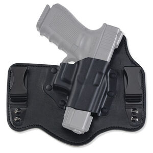 Galco King Tuk Inside Waistband Holster Fits Ruger EC9S, LC9 Right Hand Kydex/Leather Black