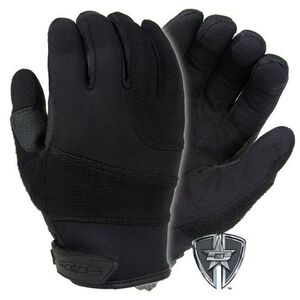 Damascus Protective Gear Patrol Guard Gloves Clarino Synthetic Leather Black