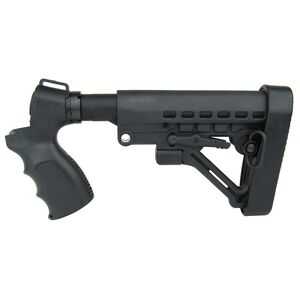 TacFire Mossberg 500 Pistol Grip Six Position Tactical Stock Kit Black MSG004-G