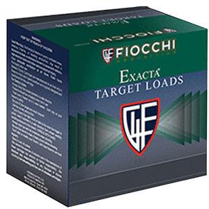"Fiocchi Exacta Clay Target Line Nickel Super Crusher 12 Gauge Ammunition 25 Round Box 2-3/4"" #7.5 Shot 1oz Nickel Plated Lead 1400 fps"