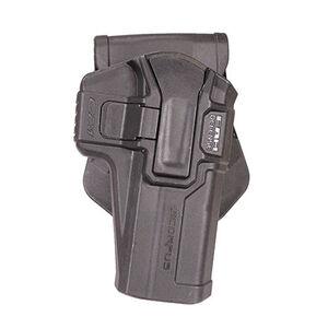 Mako Group Scorpus M1 Paddle/Belt Holster Fits GLOCK 20/21 Right Hand Swivel Polymer Black