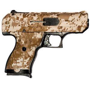 "Hi-Point Compact Semi Auto Pistol 9mm Luger 3.5"" Barrel 8 Rounds Polymer Frame Desert Digital 916 DD"