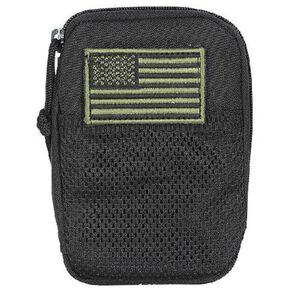 Voodoo Tactical Universal Compatible BDU Wallet Mesh 4 Inches Black
