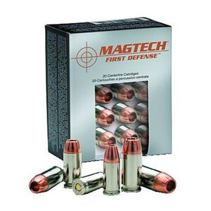 Magtech First Defense .380 ACP Ammunition 20 Rounds SCHP 77 Grains FD380A