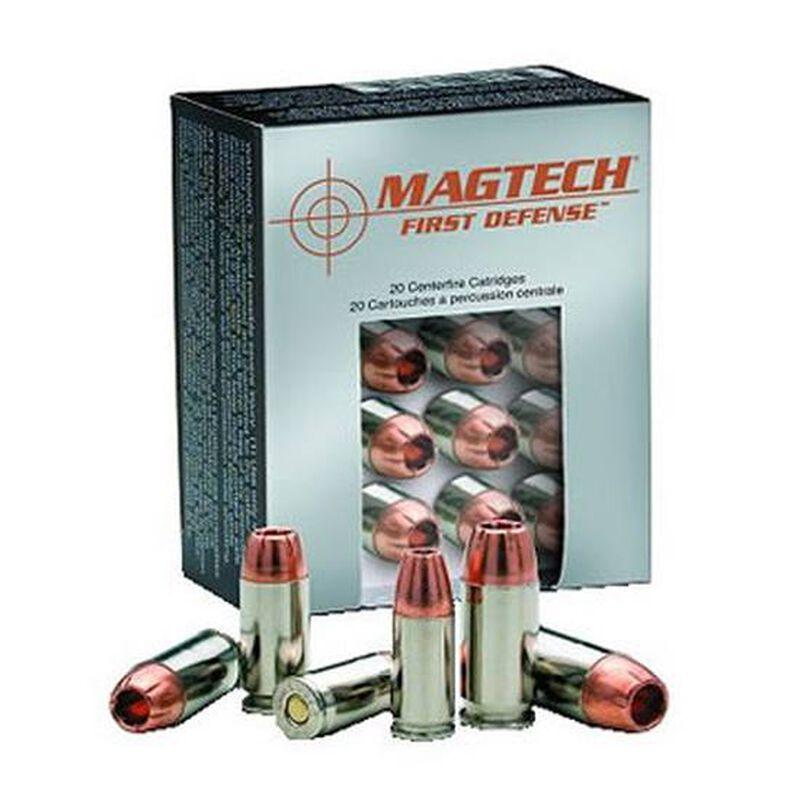 Magtech First Defense .380 ACP Ammunition 20 Rounds SCHP 77 Grains FD380A