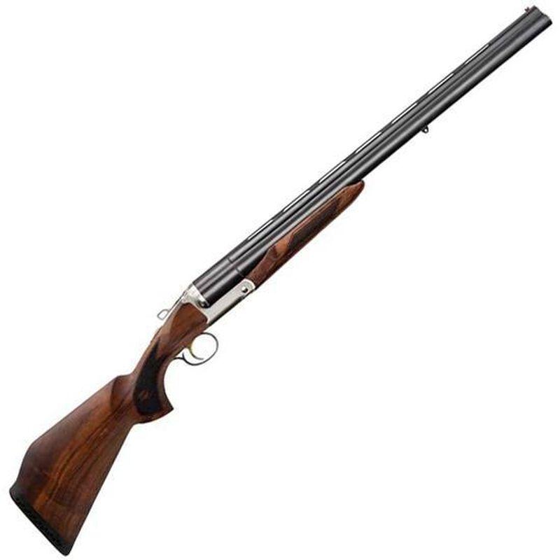 "Charles Daly Triple Crown Compact 12 Gauge Triple Barrel Break Action Shotgun 28"" Barrels 3"" Chambers 3 Rounds Extractor Walnut Stock Matte Blued"