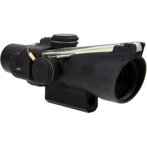Trijicon 2x20 Compact ACOG Scope, Dual Illuminated Green Crosshair Reticle with M16 Carry Handle Base and Mounting Screw