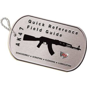 Real Avid AK47 Field Guide Illustrated Quick Reference Guide Laminated