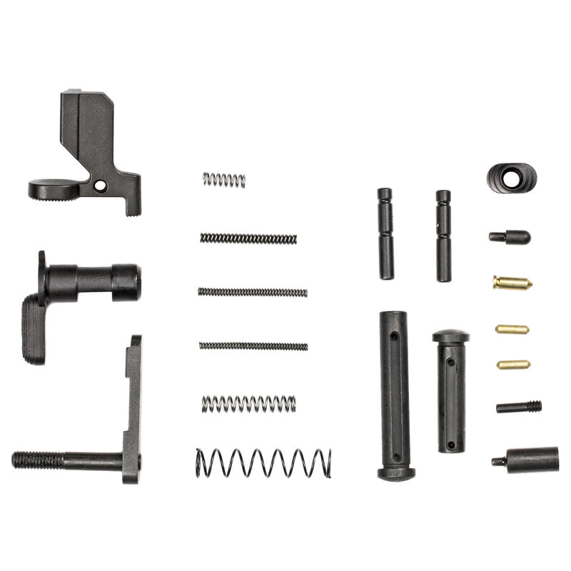 Luth-AR .308 AR Builders Kit Lower Receiver Parts Kit Matte Black
