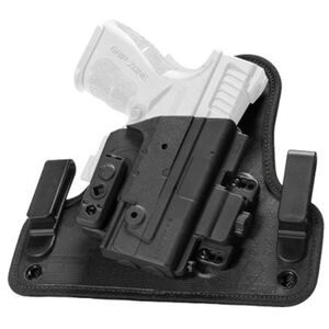 Alien Gear ShapeShift IWB Holster fits GLOCK 26/27/33  Right Handed Synthetic Backer with Polymer Shell Black