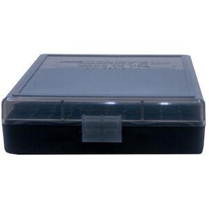 Berry's Ammo Box 380/9mm 100 Round Polymer Smoke/Black