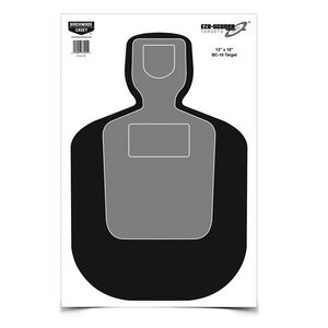"Birchwood Casey BC-19 Silhouette Paper Target 12"" x 18"" 100 Pack"