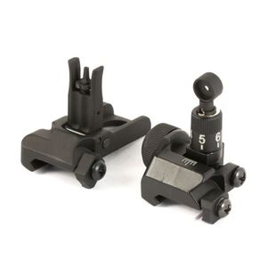 JE Machine Flip-up Front & Rear Sight