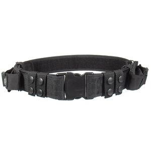 UTG Law Enforcement and Security Duty Belt, Black