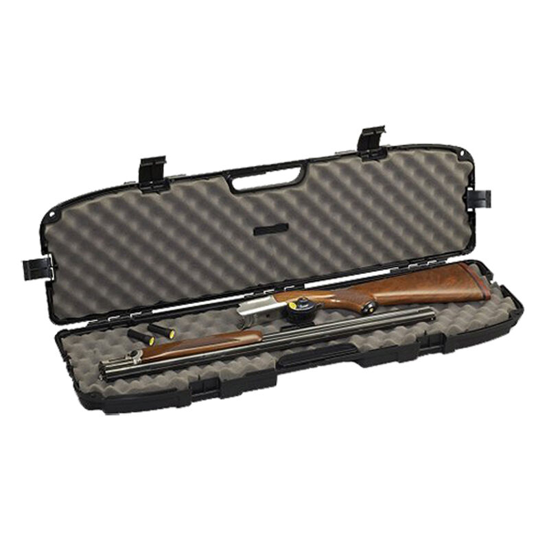 """Plano Pro-Max Take-Down Shotgun Case 36"""" Length PillarLock Crush Resistant Heavy Duty Latches Molded In Handle Thick Walled Construction Polymer Matte Black 153500"""